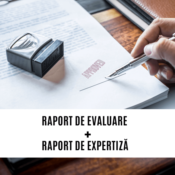 Raport evaluare conform metodologie Anevar Raport expertiza semnatura expert